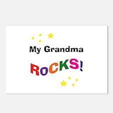 My Grandma Rocks! Postcards (Package of 8)