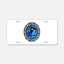 RALEY Aluminum License Plate