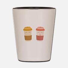Coffee Cups Shot Glass