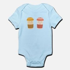 Coffee Cups Body Suit