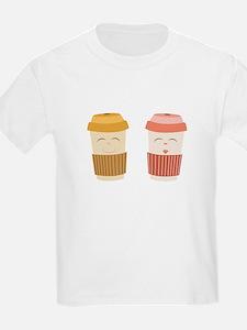 Coffee Cups T-Shirt