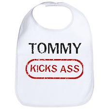 TOMMY kicks ass Bib
