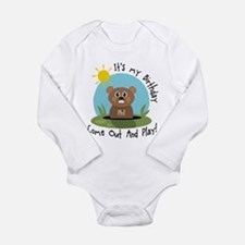 Unique B Long Sleeve Infant Bodysuit