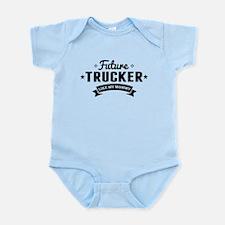 Future Trucker Like My Mommy Body Suit
