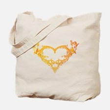 Cupid Valentine Hearth Tote Bag