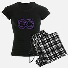 Purple Infinity Pajamas