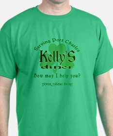 Kellys Diner General Hospital Customize T-Shirt