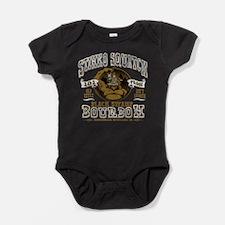 Stinks Squatch Black Swamp Bourbon Baby Bodysuit