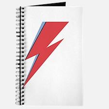 Ziggy Stardust - Lightning - On Black Star Journal