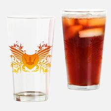 Royal tribal banner Drinking Glass