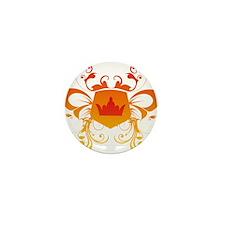 Royal tribal banner Mini Button