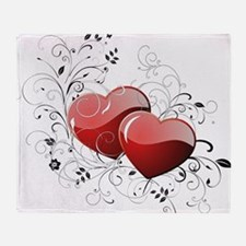 Twin hearth Throw Blanket