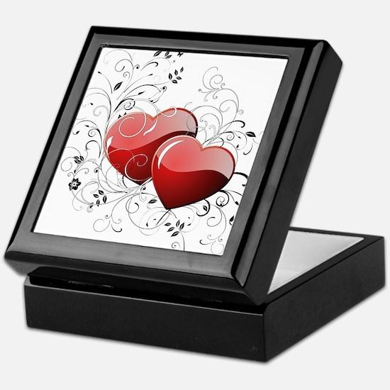 Twin hearth Keepsake Box