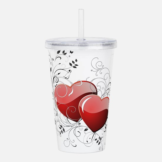 Twin hearth Acrylic Double-wall Tumbler