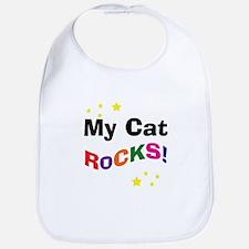 My Cat Rocks! Bib
