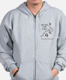 Home is Where the Goat is Pygmy Goats GYG Zip Hoodie