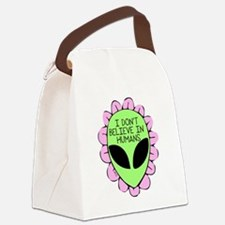 Cute I pink i can Canvas Lunch Bag