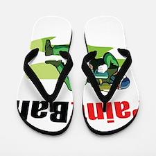 Funny Paintball Flip Flops