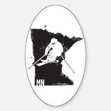 Ski Minnesota Decal