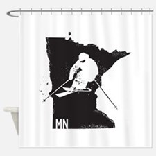 Ski Minnesota Shower Curtain