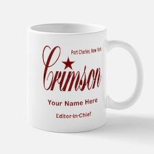 Crimson Editor-in-Chief Customized Mugs