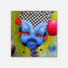 """Funny Surrealist art Square Sticker 3"""" x 3"""""""