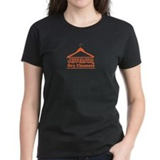 Jefferson Cleaners Orange Logo Tee