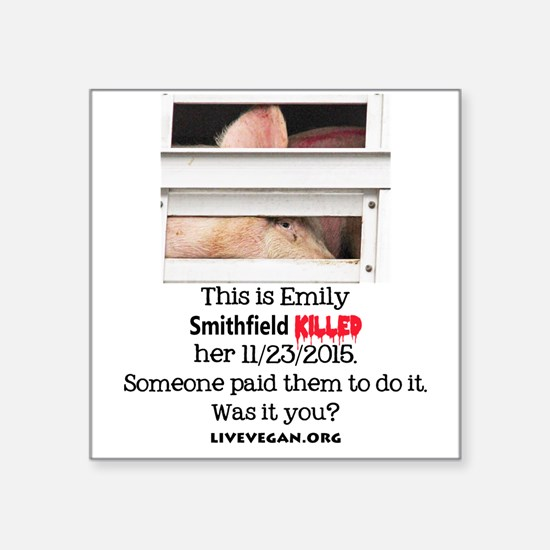 Emily the Pig Sticker