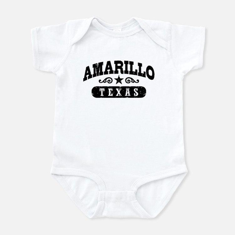 Amarillo Texas Infant Bodysuit