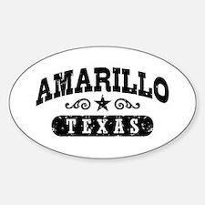 Amarillo Texas Decal