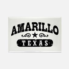 Amarillo Texas Rectangle Magnet