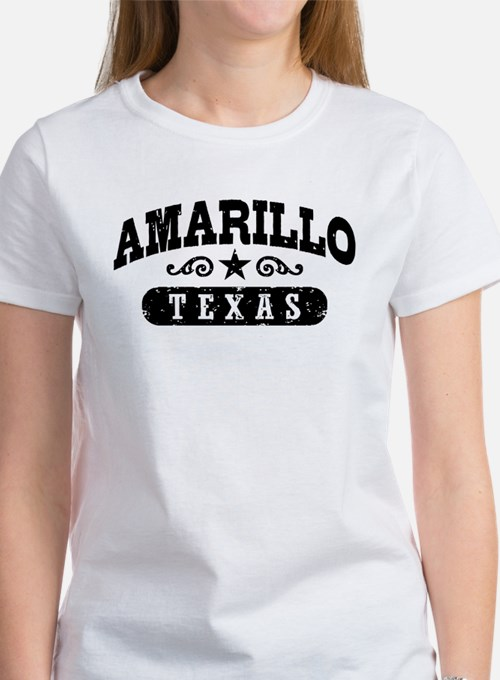 Amarillo Texas Women's T-Shirt