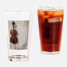 Cute Viola Drinking Glass