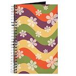 Floral Striped Hippie Art Journal