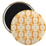 "Retro Abstract Art 2.25"" Magnet (100 pack)"