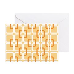 Retro Abstract Art Greeting Cards (Pk of 20)