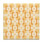 Retro Abstract Art Tile Drink Coaster
