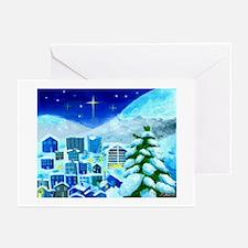 Hikaru's Snow Village Greeting Cards (pk 20)