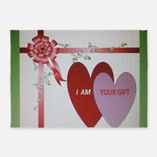 I AM YOUR GIFT 5'x7'Area Rug