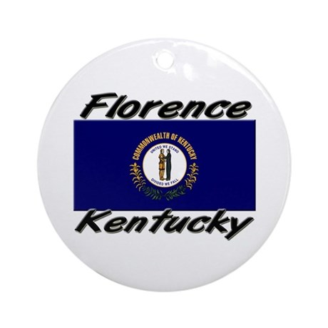 Florence Kentucky Ornament (Round)