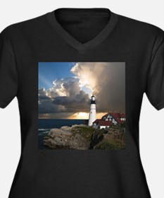 Lighthouse Lookout Plus Size T-Shirt