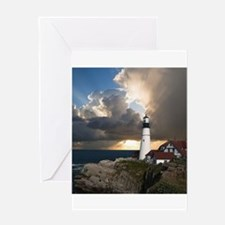 Lighthouse Lookout Greeting Cards