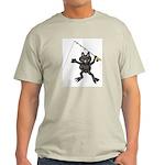FISHING FUN Ash Grey T-Shirt