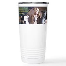 Cute Pitbull Travel Mug