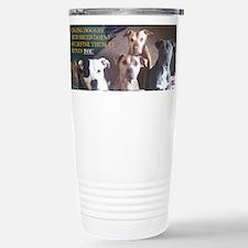 Pit bull Travel Mug