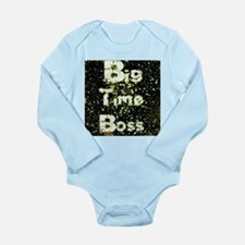 Big Time Boss (splattered gold version) Body Suit