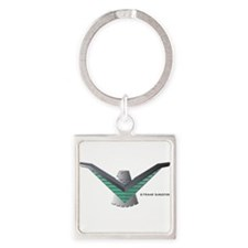 Unique Thunderbird Square Keychain