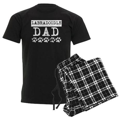Cafepress - Labradoodle Dad - Men's Dark Pajamas