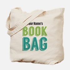 Personalized Book Tote Bag