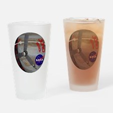 Juno: Program Patch Drinking Glass